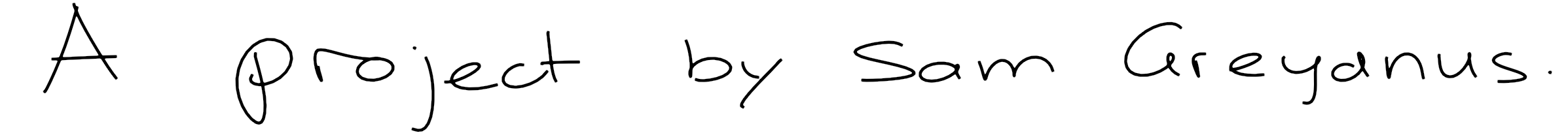 Scribe: realistic handwriting with TensorFlow